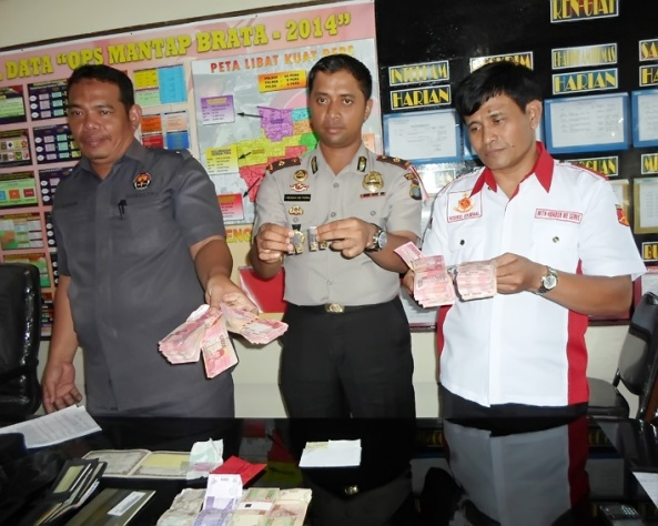 Release Kasus Pencurian